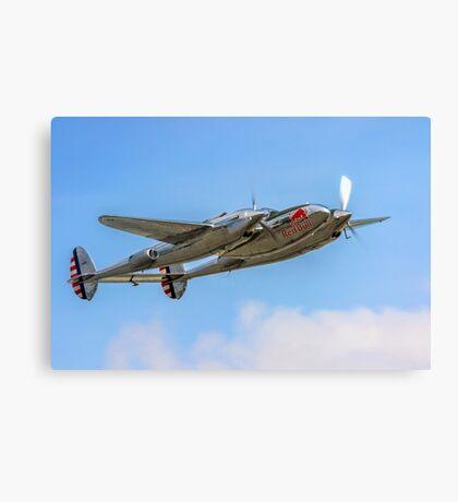 Lockheed P-38L Lightning 44-53254 N25Y Canvas Print