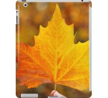 Autumn Maple Leaf iPad Case/Skin