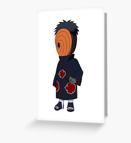 Naruto Tobi Greeting Card