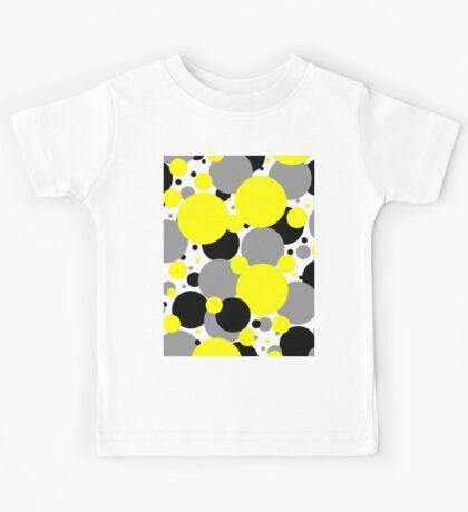 Yellow Polka Dots Kids Tee