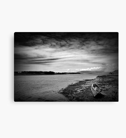 Walney Channel Wreck Canvas Print