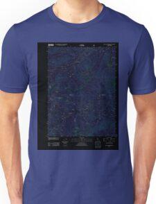 USGS TOPO Map California CA Seven Lakes Basin 20120305 TM geo Inverted Unisex T-Shirt