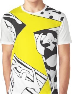Yellow Bee Beach Graphic T-Shirt