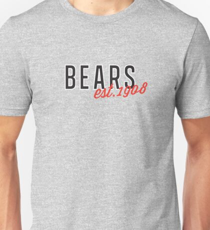 Bears est.1908 Unisex T-Shirt