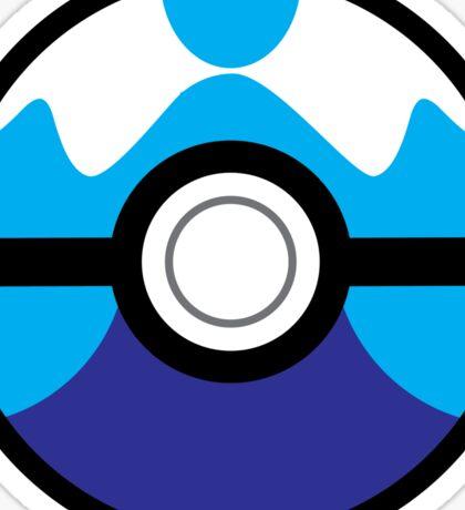 Dive Ball Sticker