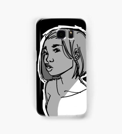 Puckered and Black Samsung Galaxy Case/Skin