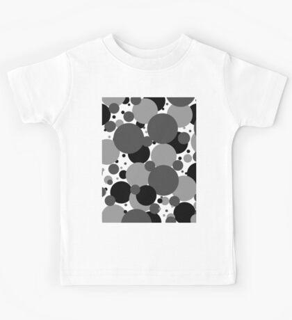Grey Polka Dots Kids Tee
