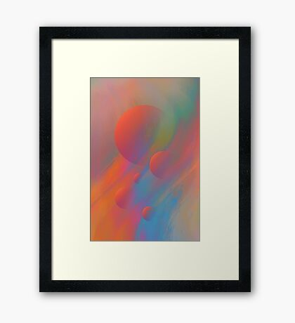 FRESHNESS OF SPRING Framed Print