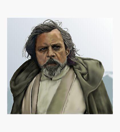 Luke Skywalker - The Force Awakens Photographic Print