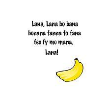 Lana Banana by DARoma