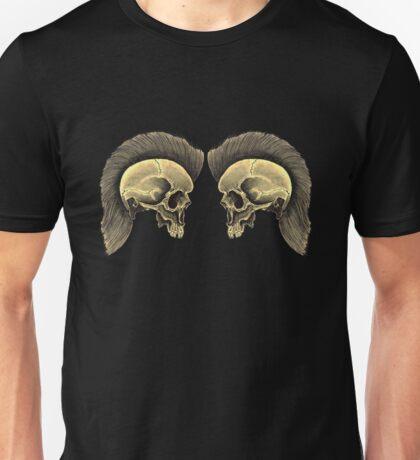 TWIN PUNK SKULLS Unisex T-Shirt