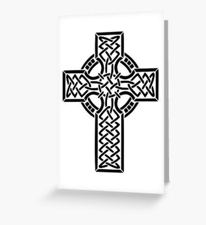 Celtic cross 1 Greeting Card
