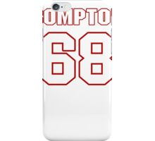 NFL Player Tom Compton sixtyeight 68 iPhone Case/Skin