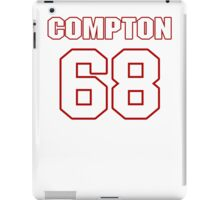 NFL Player Tom Compton sixtyeight 68 iPad Case/Skin