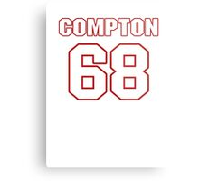 NFL Player Tom Compton sixtyeight 68 Metal Print