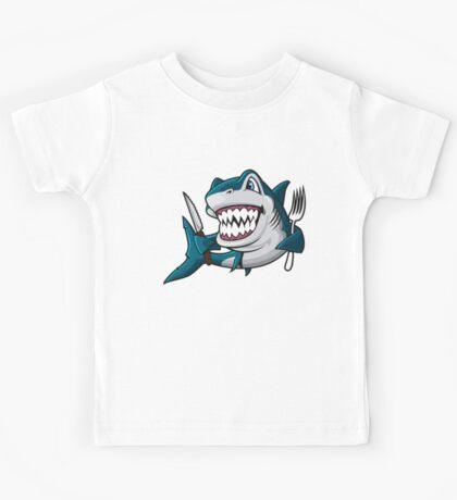 Hungry Sharky Kids Tee