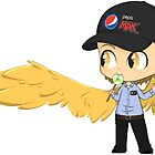Gabriel the Pepsi Max Guy by KhemyklShark