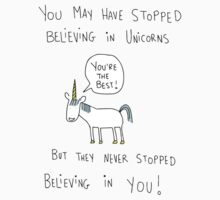 Believing in Unicorns Kids Tee