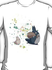 Totoro's friends colours T-Shirt