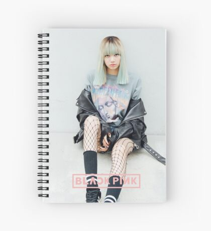 lisa blacpink stay Spiral Notebook