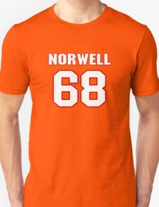 NFL Player Andrew Norwell sixtyeight 68 T-Shirt