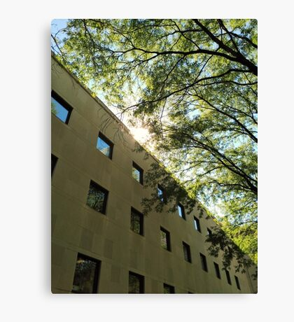 Harmony With Nature Architecture Photography Canvas Print