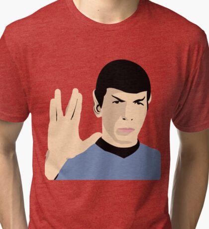 Spock   Star Trek   Live Long And Prosper Tri-blend T-Shirt