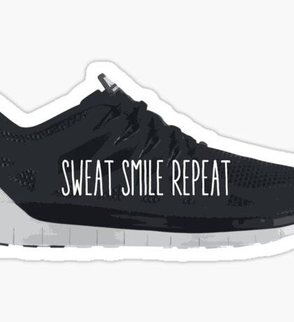 Sweat Smile Repeat Sticker