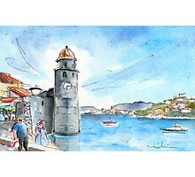 Collioure Tower Photographic Print