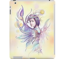 """""""THE CANCER""""  - Protective Angel for Zodiac Sign iPad Case/Skin"""