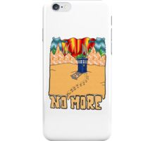 Doctor Who No More iPhone Case/Skin