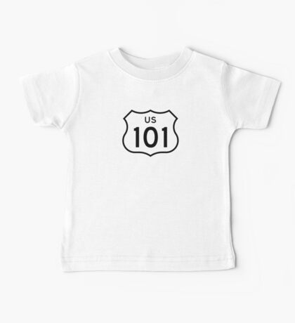 US Route 101 Sticker Baby Tee