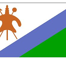 Lesotho Flag by kwg2200