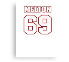 NFL Player Henry Melton sixtynine 69 Canvas Print