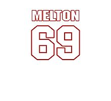 NFL Player Henry Melton sixtynine 69 Photographic Print