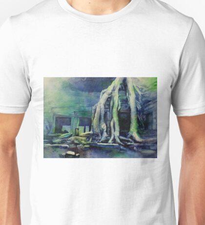 Overgrown Ruins- Angkor Wat, Cambodia Unisex T-Shirt