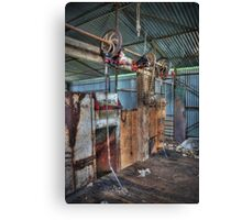 The Shed #2 Canvas Print