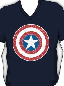 Captain America - Stylised Shield T-Shirt
