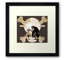 The Will of the D. Framed Print