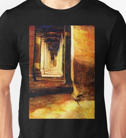 Angkor Wat Hallway- Cambodia Unisex T-Shirt
