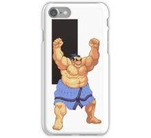 He's not fat, he's sexy and he knows it iPhone Case/Skin