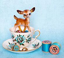 Crafty bambi by Zoe Power