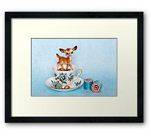 Crafty bambi Framed Print