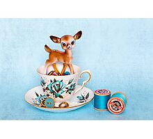 Crafty bambi Photographic Print