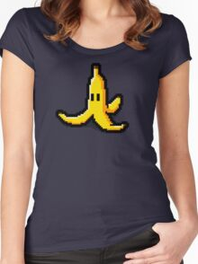 Pixel banana Women's Fitted Scoop T-Shirt