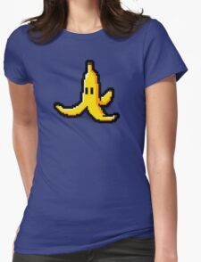 Pixel banana Womens Fitted T-Shirt