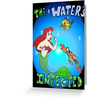 The Little Mermaids Infected Greeting Card