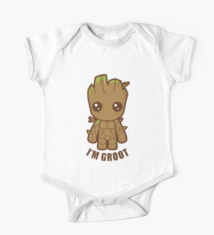 i'm groot One Piece - Short Sleeve