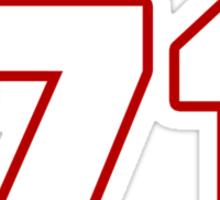 NFL Player Jason Peters seventyone 71 Sticker