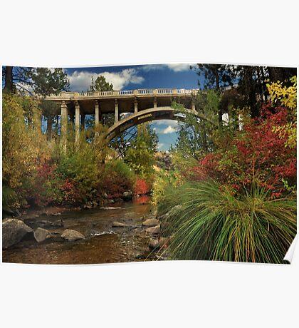 Historic Highway Bridge - Susan River Poster